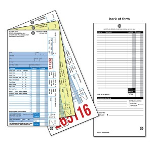 3-ply bicycle repair form