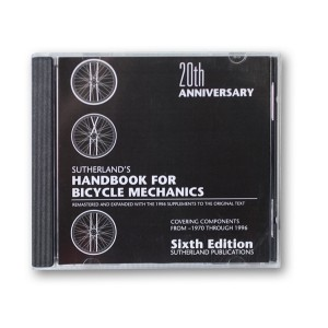 bicycle repair manual cd