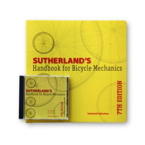 bicycle repair manual and cd
